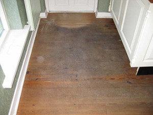 oude houten vloer