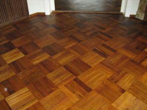 gerenoveerde visgraat vloer